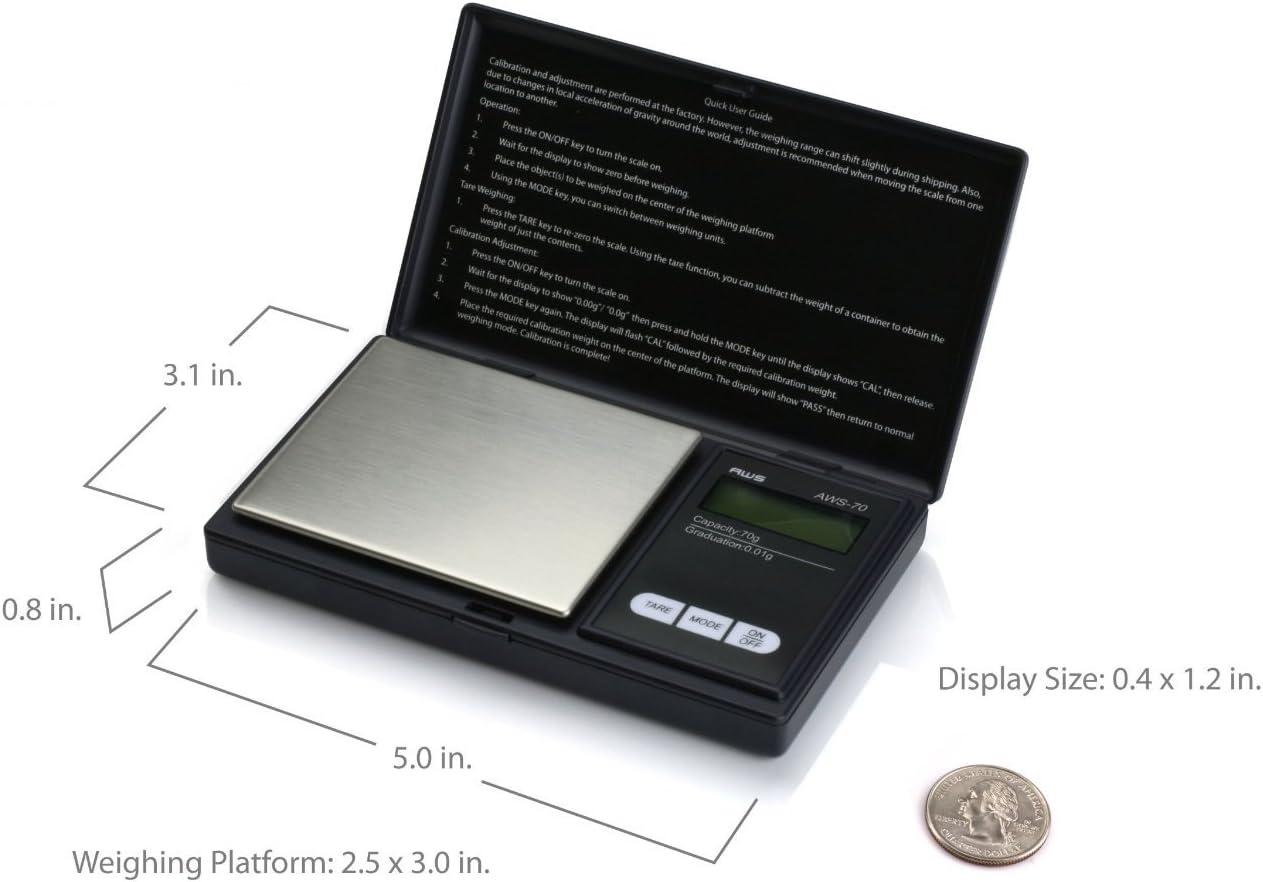 Xenborg Balance De Pr/écision Num/érique 0,1 G 1000 G by