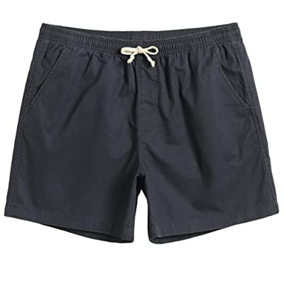 "Mens Summer 5"" Sweetpants Cotton Casual Shorts Classic Fit Drawstring with Pocket Short for Men Athletic 