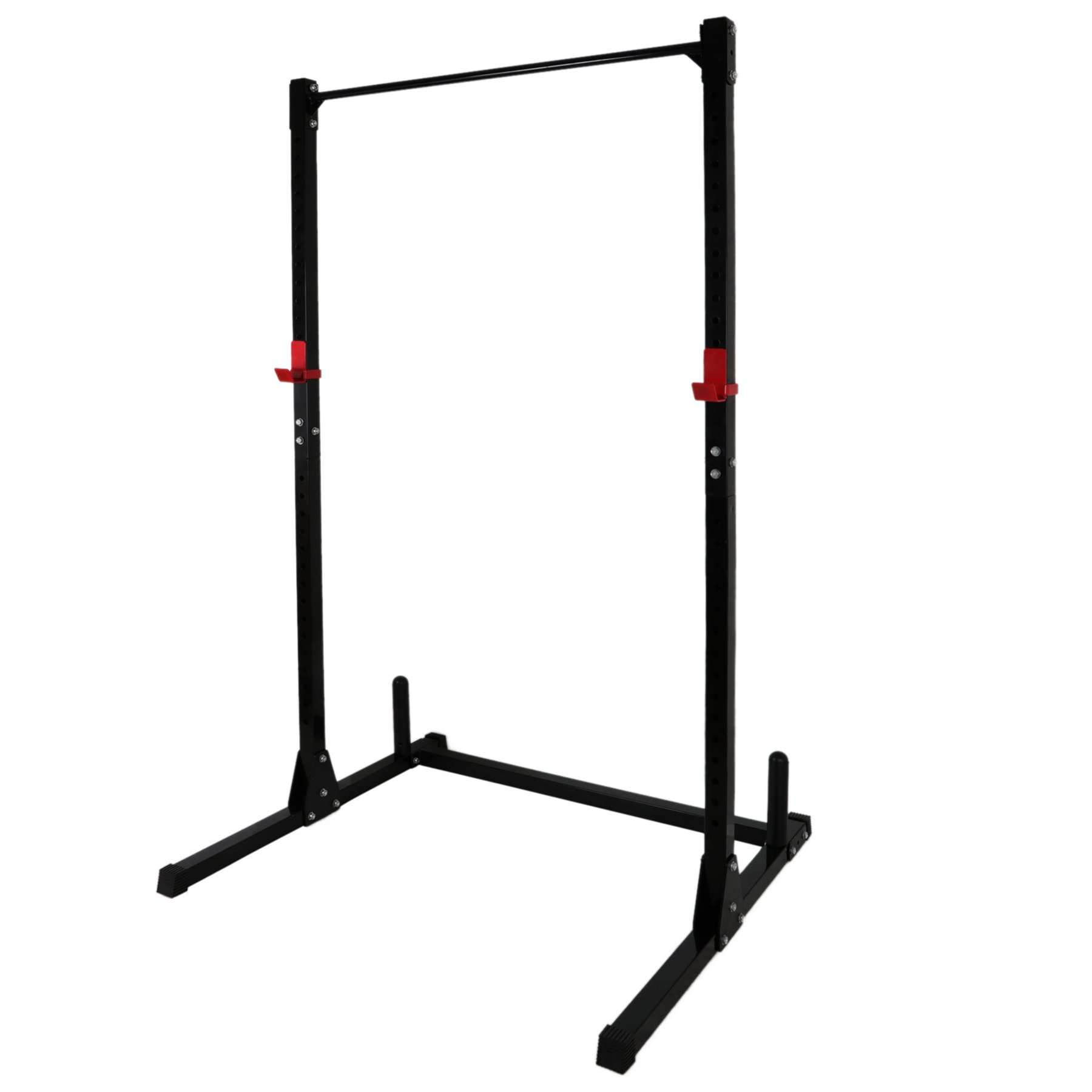F2C Adjustable Height Power Squat Rack Cage Stand System Strength Deadlift Power Lifting Weightlifting Rack W/Pull up Bar Exercise Stand Squat Rack Bench Curl Weight Stand by F2C (Image #4)