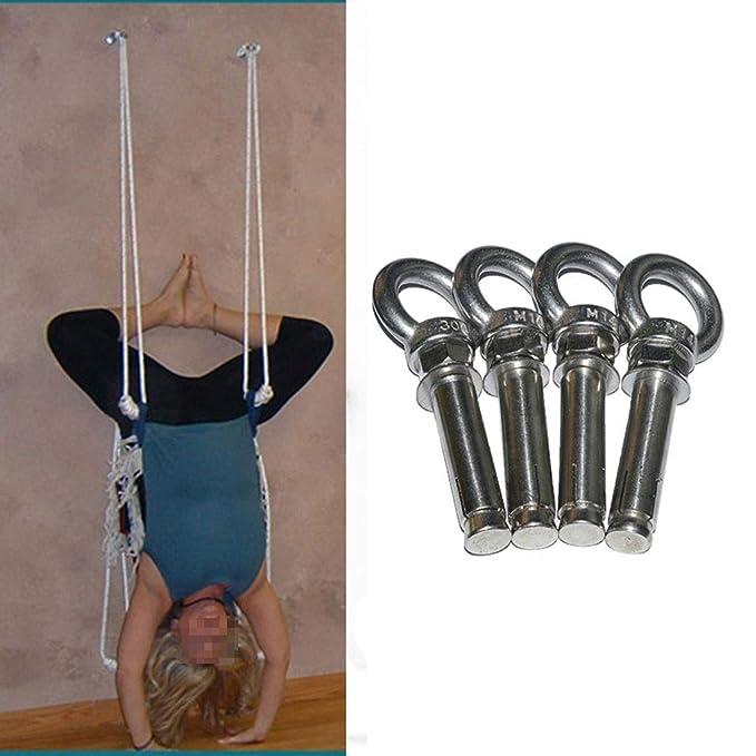 LZ Kit de Cuerdas de Yoga para Pared, Sling antigravedad ...