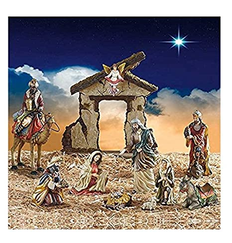 new style 56eef f4a2e Kirkland Signature 13-Piece Nativity Set Hand-Painted (Polyresin) Tabletop  - Pesebre de Navidad