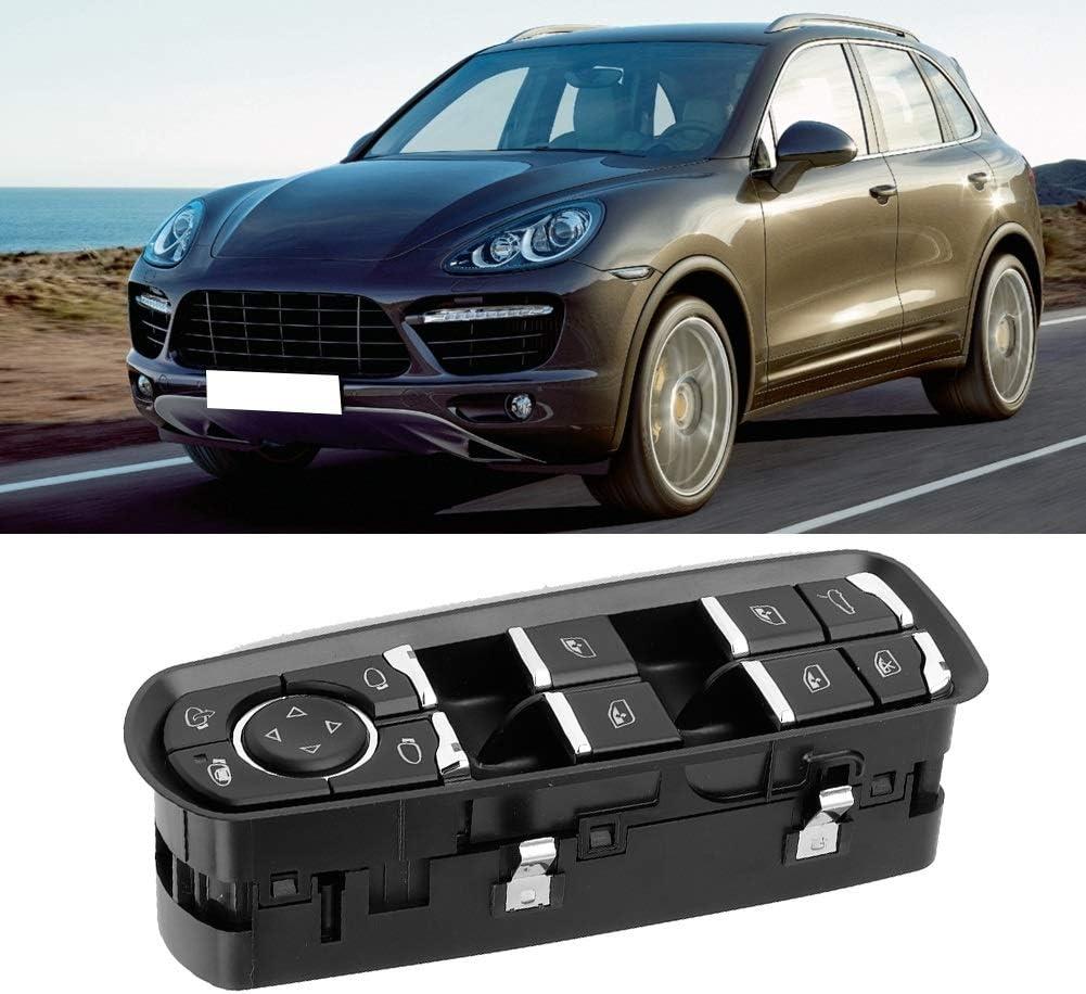 Dingln Cayenne Porsche,Power Master Fen/être Commutateur De Commande Fit Compatible avec Porsche Cayenne 2011-2016