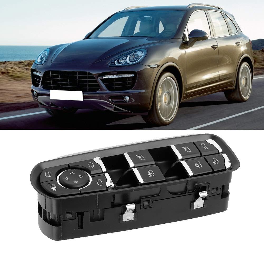 interruptor de control de ventana Power Master compatible con Porsche Cayenne Panamera 2011 12 13 14 15 2016 Interruptor de ventana el/éctrico