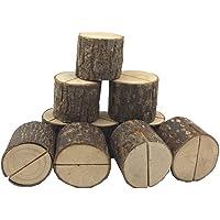 TOOGOO Sostenedor de tarjeta de madera de lugar