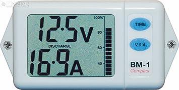 Nasa - Batteriemonitor BM-1 Compact - weiß: Amazon.de: Sport & Freizeit