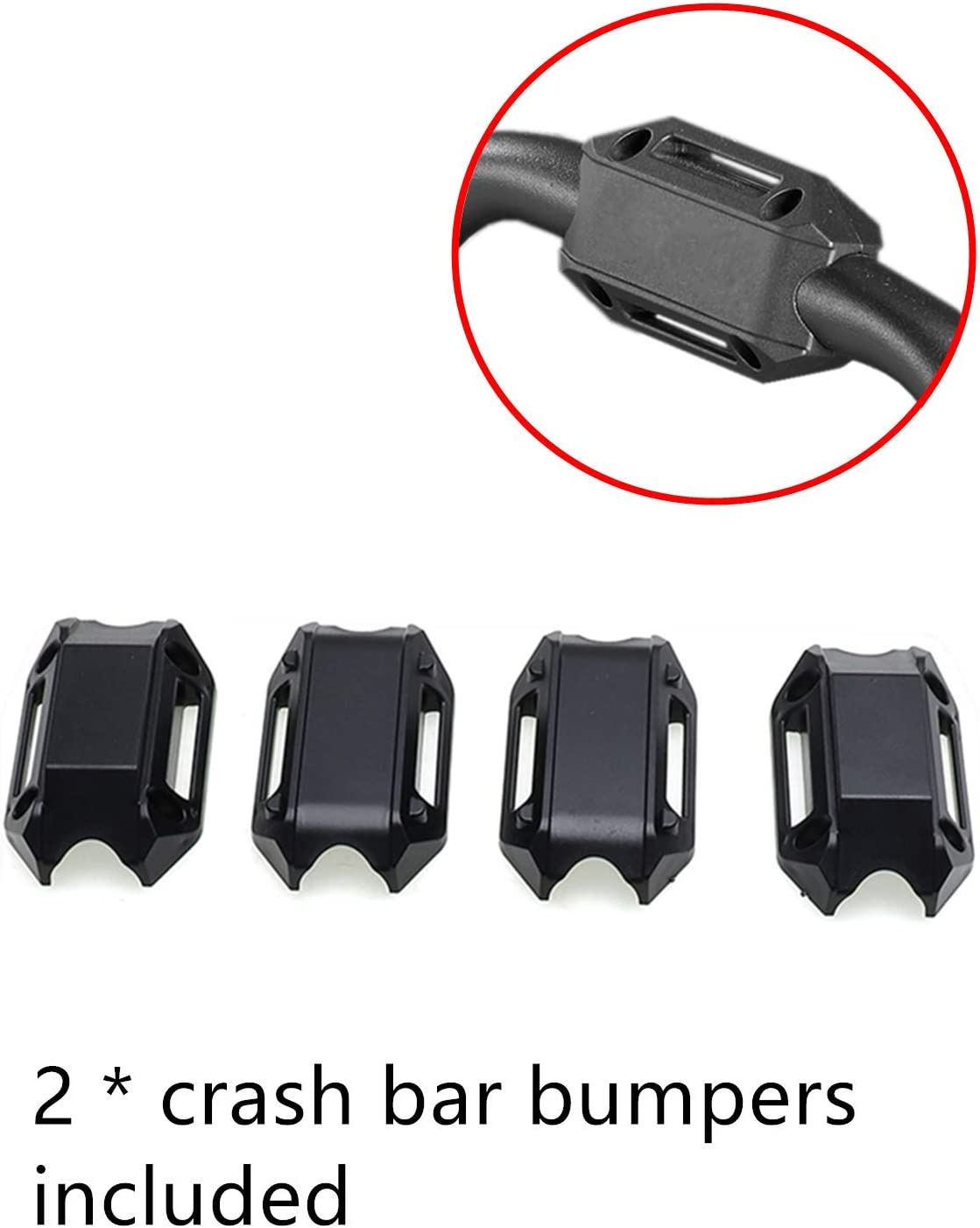 MotorFansClub Upper Highway Crash Bar Fit For Compatible With BMW F750GS F850GS 2018 2019 Engine Guard