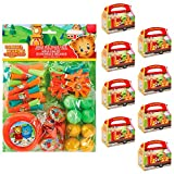 BirthdayExpress Daniel Tigers Neighborhood Party Supplies Filled Favor Box Kit (For 8 Guests)
