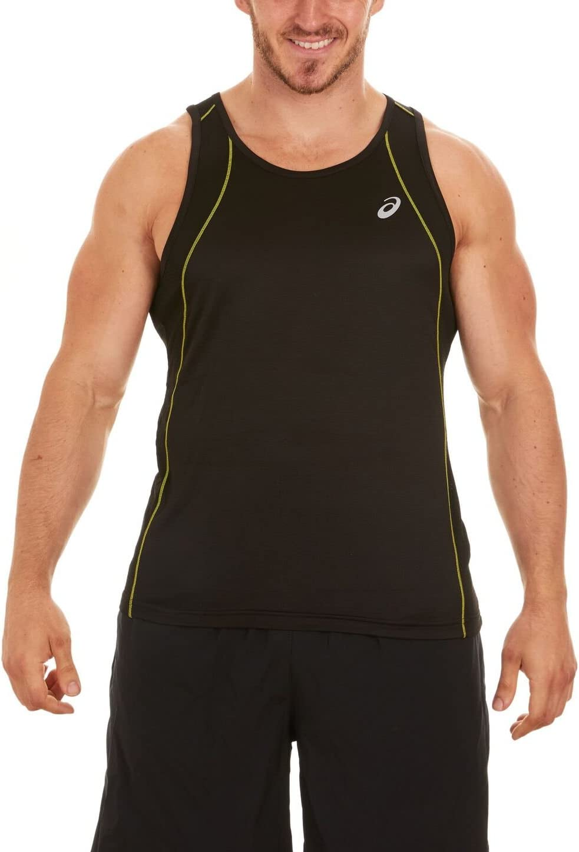 ASICS Men's Kettei Printed Running Sleeveless Shirt