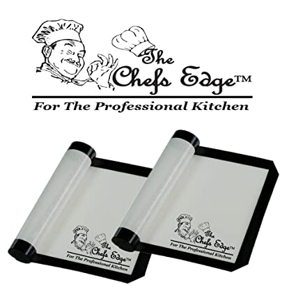 baking mat best silicone professional rolling pastry oven set of two 2 sheet liners chefs kitchen - Chefs Kitchen 2