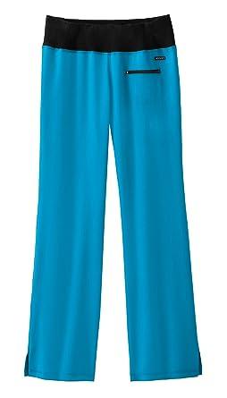 Jockey - Pantalones de Uniforme médico para Yoga - Azul - XL ...