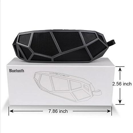 H&M Mini altavoz de Bluetooth, tarjeta sin hilos portable de la ayuda TF de la ayuda, mini subwoofer al aire libre , black: Amazon.es: Deportes y aire libre