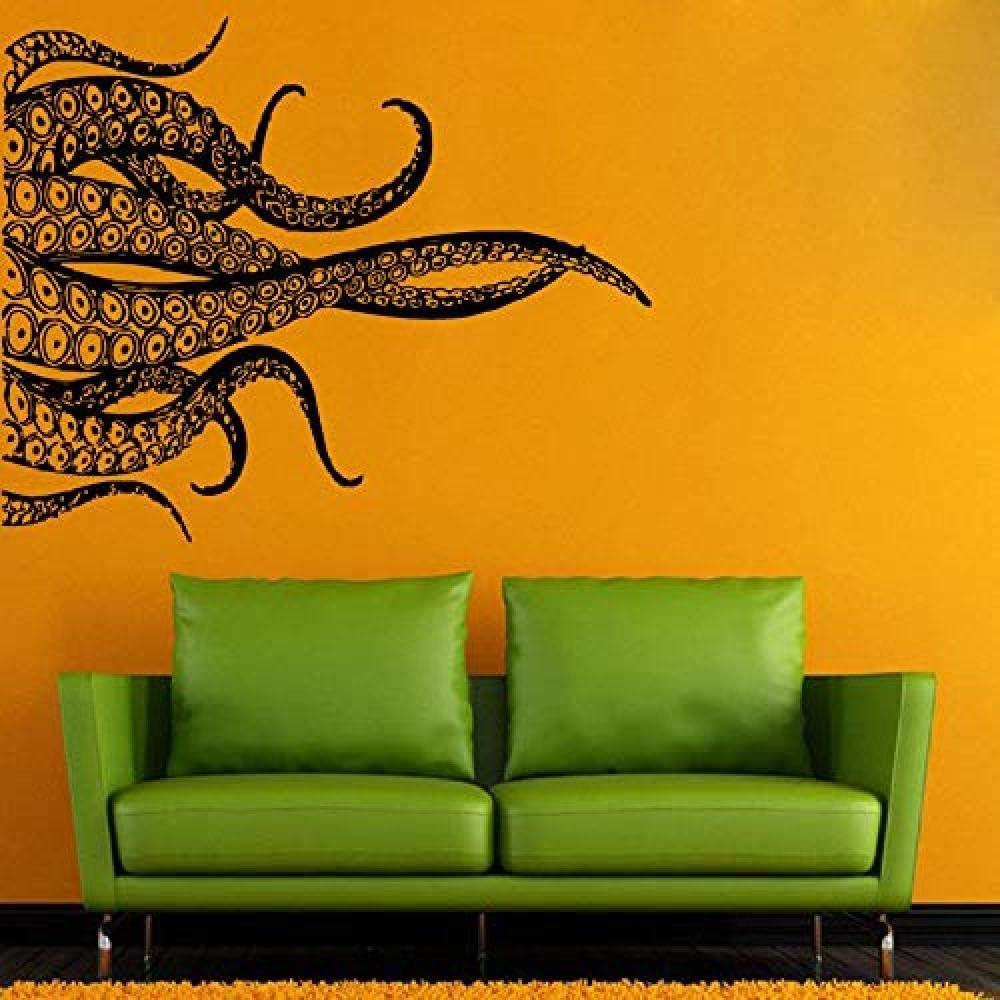 Apliques de pared de vinilo de animales marinos Tentáculos ...