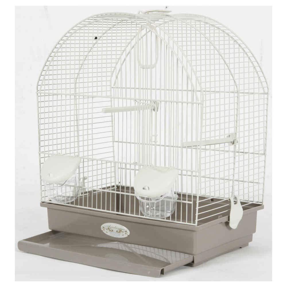 Jaula Arabesque Salomée, 40 cm: Amazon.es: Productos para mascotas