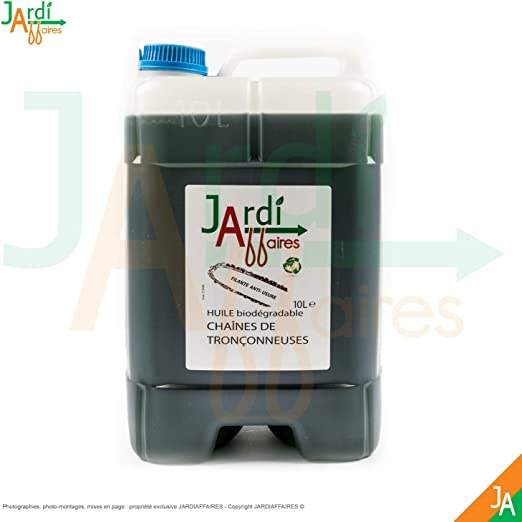 Aceite para cadena de motosierra biodegradable jardiaffaires 10 ...