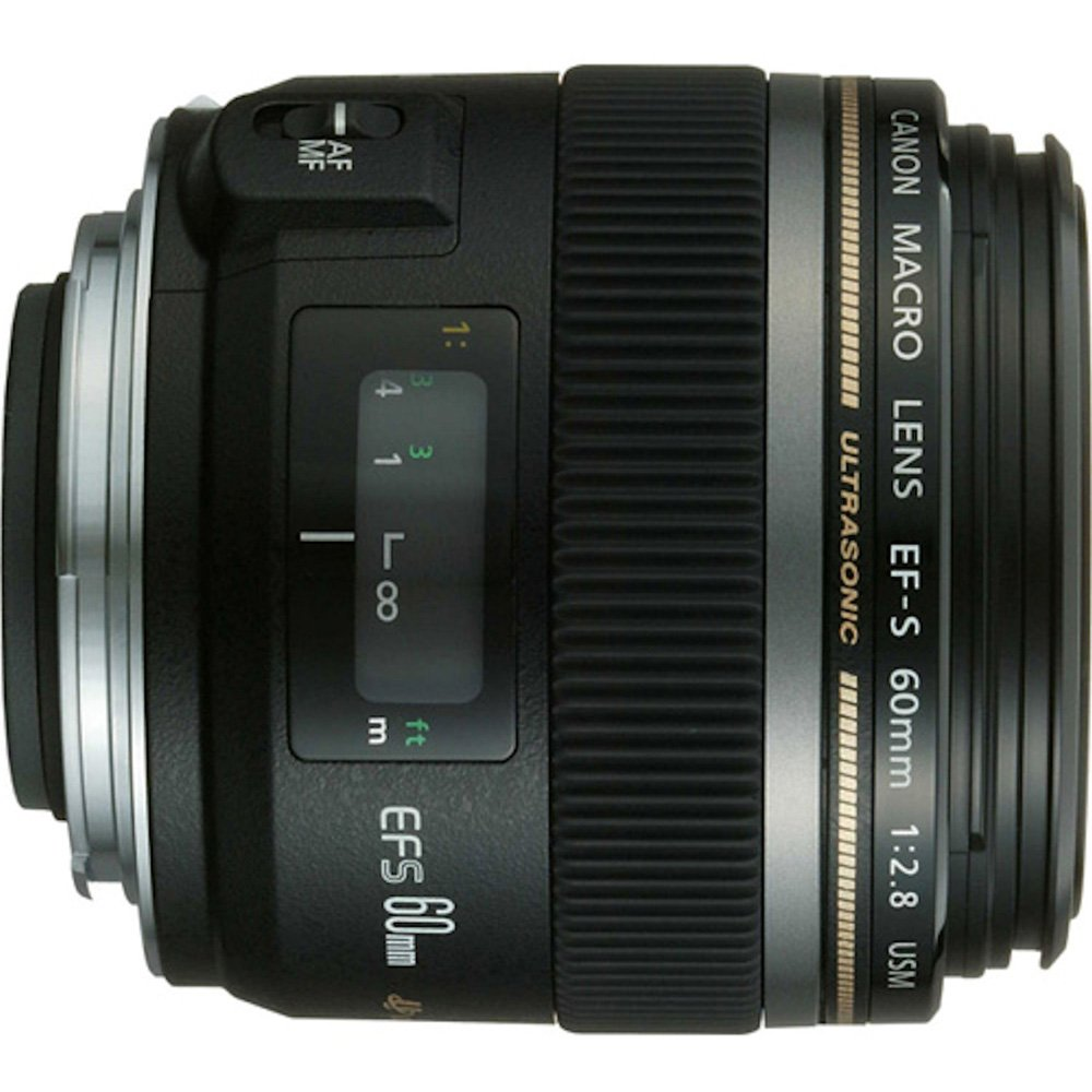 Canon EF-S 60mm f/2.8 Macro USM Fixed Lens for Canon SLR Cameras by Canon