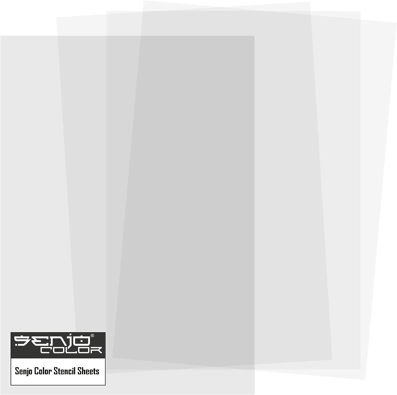 Senjo Color pintura diseño de hojas 250µ | 10 hojas A4 | Semi ...