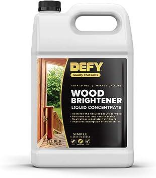 Defy 1 Gallon Wood Brightener Stain Amazon Canada