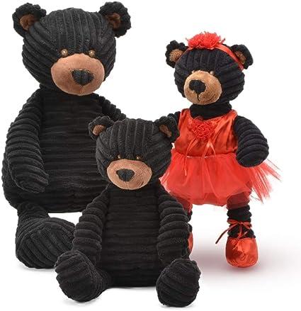 Teddy Bear Stuffed Toy, Amazon Com Unipak Kordy Black Corduroy Bear 18 Toys Games