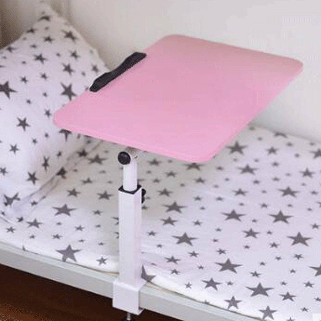 GAOLILI 折り畳み式のデスク付きのノートブックコンピュータの机のベッド小さなテーブルの寝室の寮のレイジーな学習テーブル (色 : ピンク ぴんく) B07DNSF5QF ピンク ぴんく ピンク ぴんく