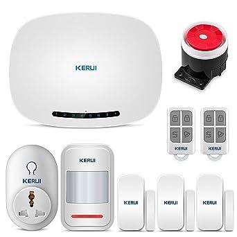 KERUI W19 GSM Sistema de Alarma para el Hogar con Aviso de ...