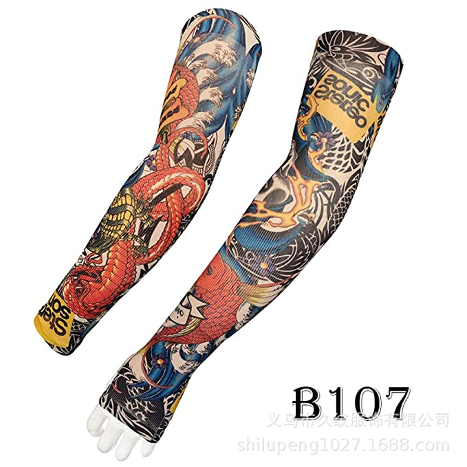 Mangas de hielo para tatuajes de protector solar Mangas de tatuaje ...
