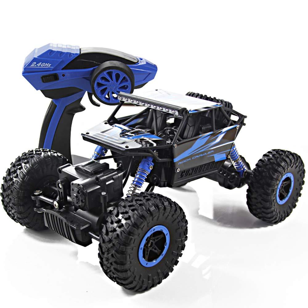 HKANG Fernbedienung Auto Allradantrieb Geländefahrzeugen Highspeed-Kletterwagen Drift Racing Kinder elektrische Spielzeugauto