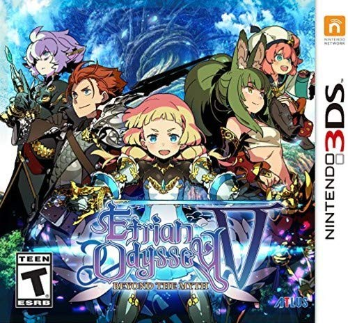 Etrian Odyssey V: Beyond The Myth - Nintendo (Best Atlus Games For 3ds)