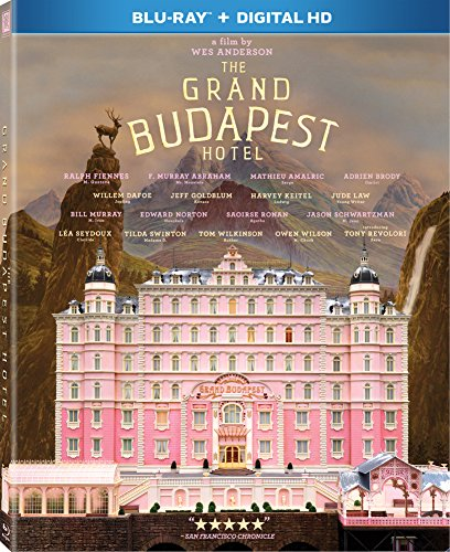 The Grand Budapest Hotel  Blu Ray