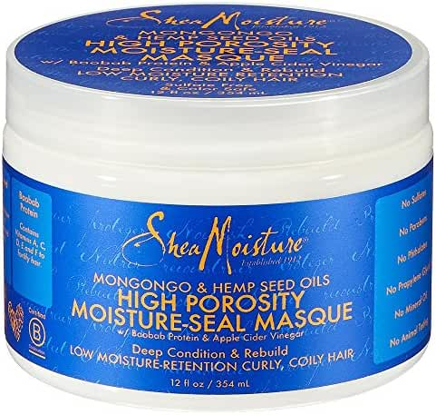 Shea Moisture High Porosity Seal Masque, 12 Ounce