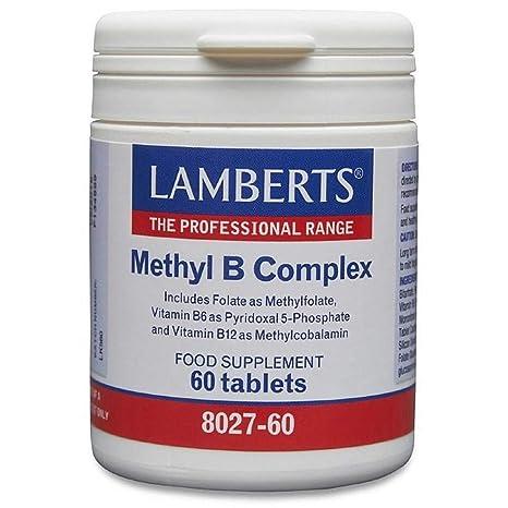 LAMBERTS - METHYL B COMPLEX 60cap L802760: Amazon.es: Salud y ...
