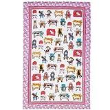 Ulster Weavers Lounge Cat Linen Tea Towel