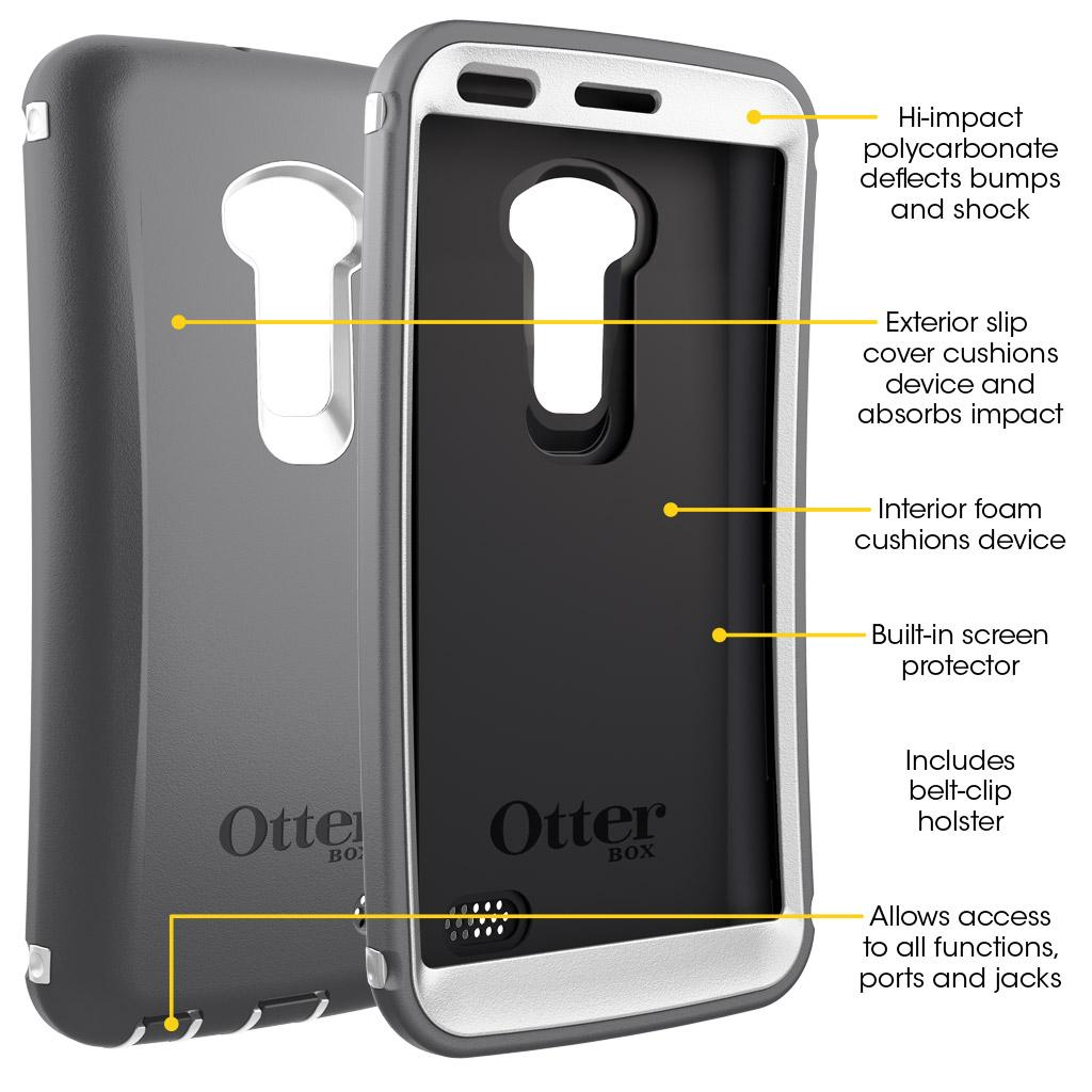 new styles 15609 c8173 OtterBox 77-38407 Defender Series for LG G Flex - Black