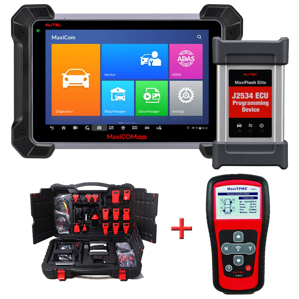 Automotive Scan Tool >> Autel Maxisys Pro Mk908p Automotive Diagnostic Scan Tool Advanced Full System Scanner With Ecu Coding And J2534 Ecu Programming With Ts401
