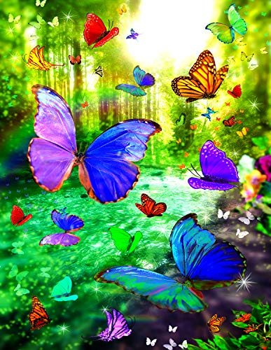 (Sunsout 2019 Dream River by Artist Alixandra Mullins 1000 Piece Butterflies and Insects Jigsaw Puzzle)