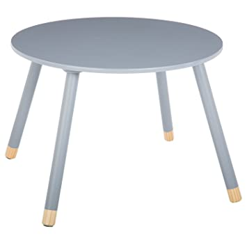 Atmosphera Mesa Infantil Douceur - Diam. 60 cm - Gris: Amazon.es ...