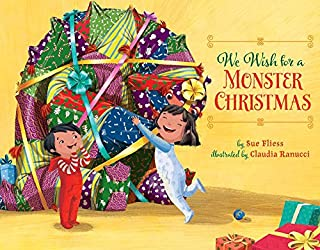 Book Cover: We Wish for a Monster Christmas