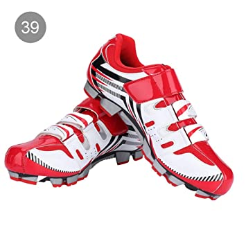 Alomejor Zapatillas de Ciclismo Antideslizantes para Hombre de 1 par de Zapatillas para Ciclismo de montaña MTB(39-Red): Amazon.es: Deportes y aire libre