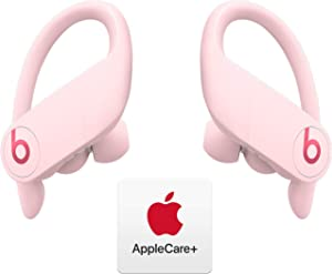Powerbeats Pro Totally Wireless Earphones - Apple H1 Chip - Cloud Pink with AppleCare+ Bundle