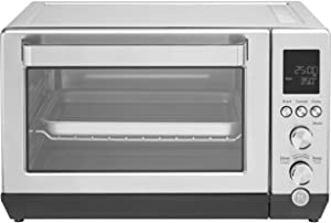 GE Calrod Convection Toaster Oven, Large Capacity Fits 9x13 Baking Pan, 7 Cook Modes of Toast, Bake, Broil, Bagel, Pizza, Roast & Keep Warm, Includes Baking Rack, Pan, Tongs & Drip Tray, G9OCAASSPSS