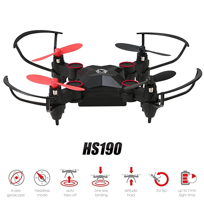 Holy Stone Mini Drone Nano Plegable RC para niños HS190 Dron NO ...
