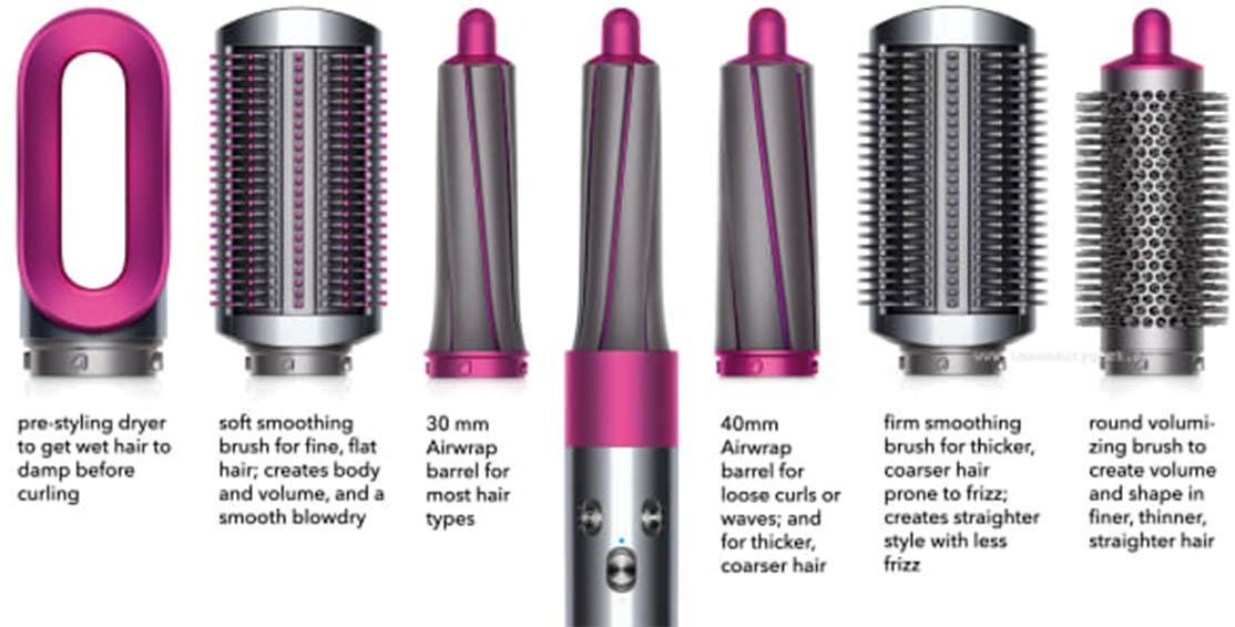 Amazon.com  Dyson Airwrap Volume + Shape Styler , for fine, flat hair   Beauty