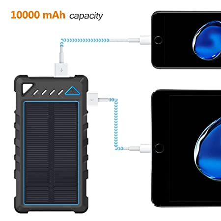 image showing the battery capacity of the beartwo 10000mah