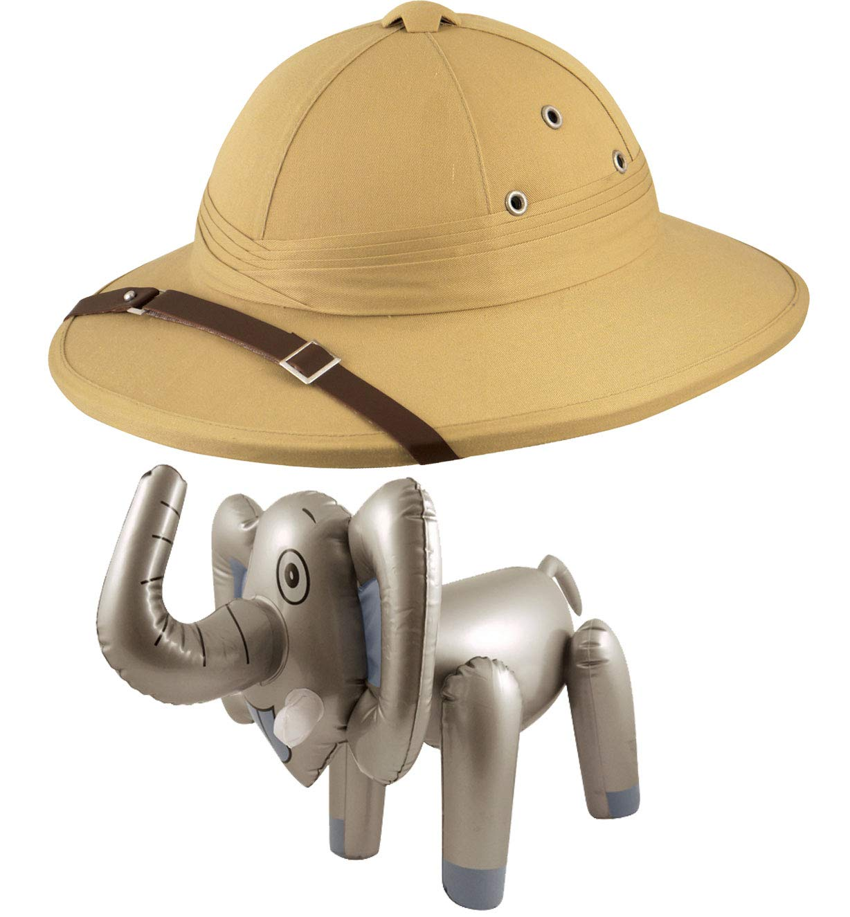 Labreeze Deluxe Safari Pith Hat Hunter Casco Inflable Elefante ...