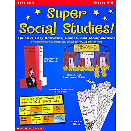 Amazon com: SCHOLASTIC TEACHING RESOURCES SUPER SOCIAL STUDIES GR 4