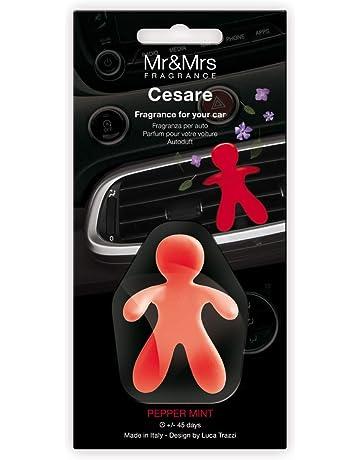 Mr & Mrs MRMR7 Fragrance Cesare, Ambientador Coche Nueva Edición, Aroma Peppermint, ...