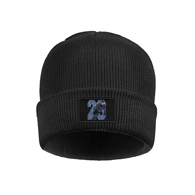 Eoyles Ice Hockey Player Fine Knit Knit Cap Fitted Beanie Hats at ... a2e8d964ac7