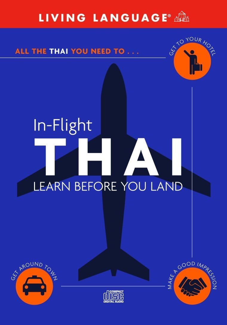 In Flight Thai Learn Before You Land Living Language