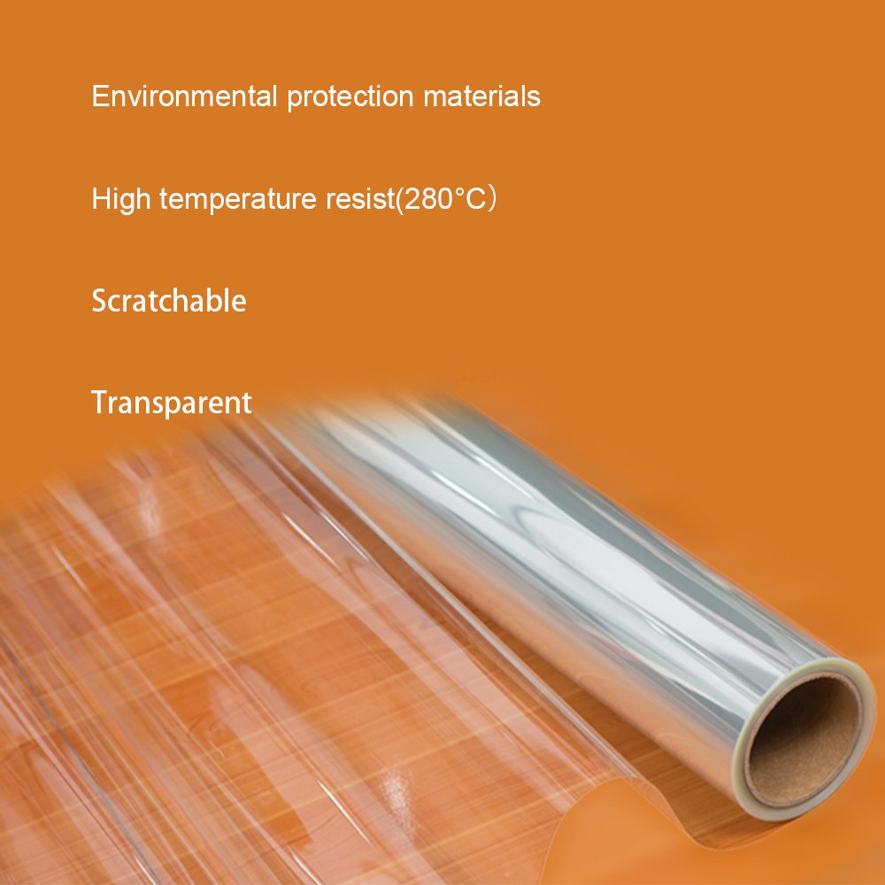 HOHO 2Mil Transparent Glossy Scratch Protective Protection Film Stickers Home Furniture Kitchen Decoration,152cmx1000cm by HOHO (Image #4)