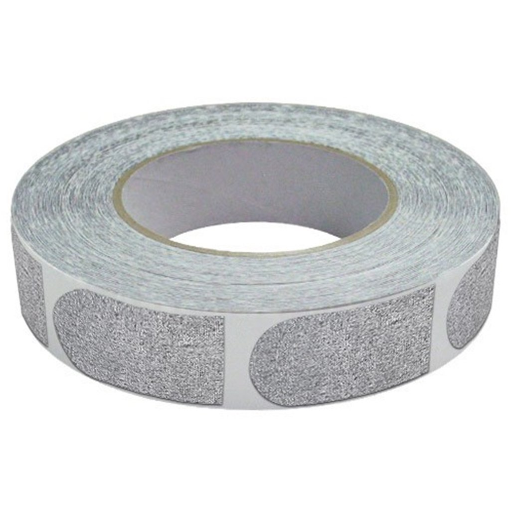 Real Bowlers Tape Silver Roll of 500- 1 Inch by Real Bowlers Tape