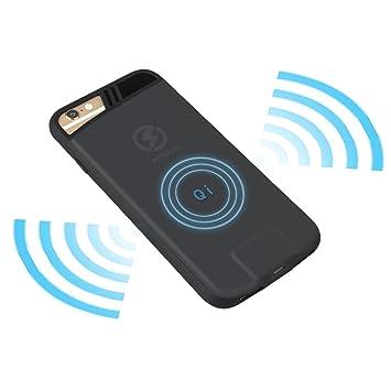 Inalámbrico cargador para iPhone 7 6 6S Plus 7Plus teléfono carga Banco de alimentación carga de batería Casos (5.5)